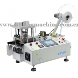 Automatic Printed Satin Label Cutting Machine with Sensor