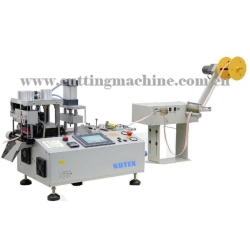 Automatic Bevel Tape Cutter with Punching Hole Function