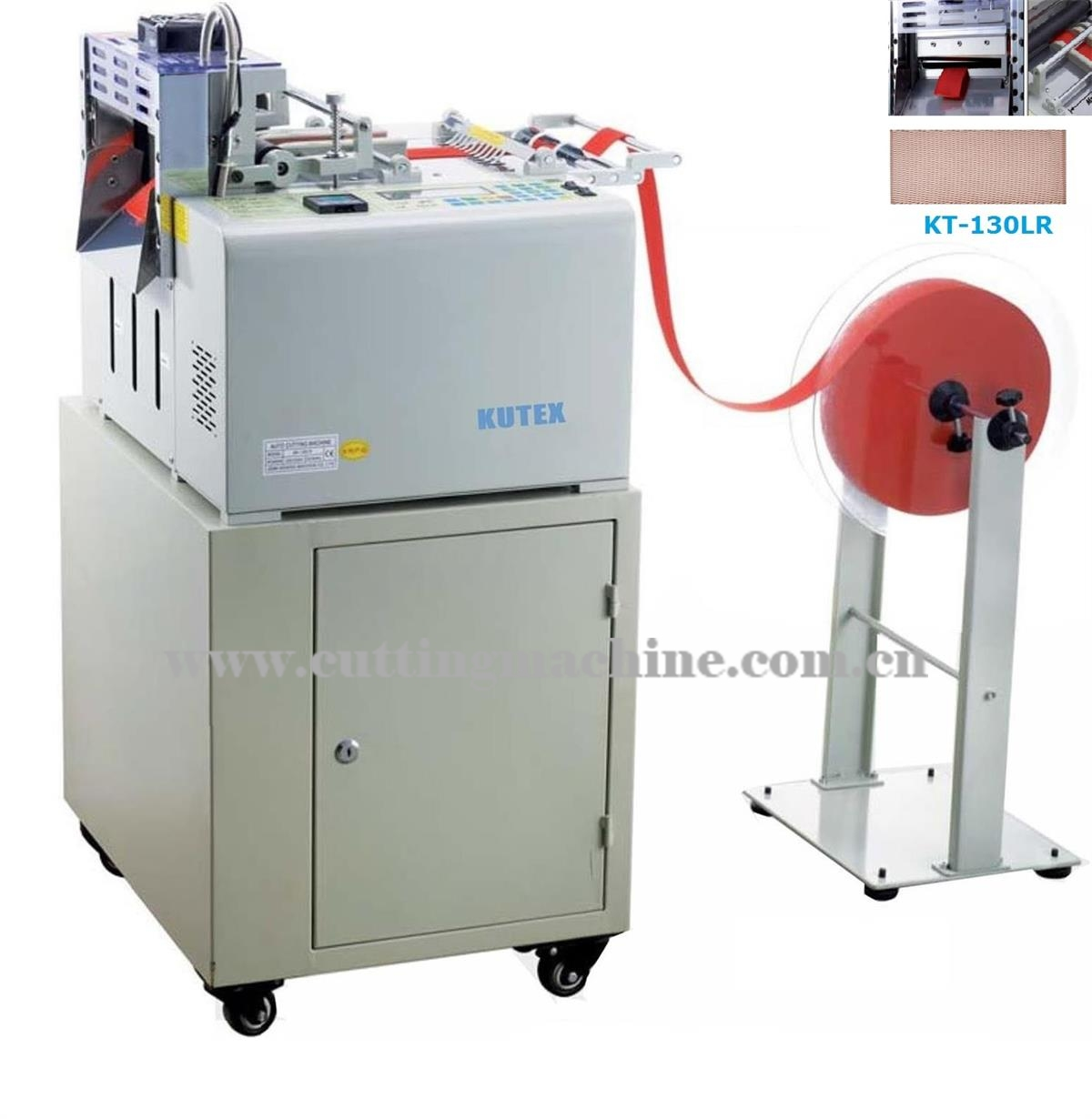 Hot and Cold Knife Computer Webbing Cutting Machine