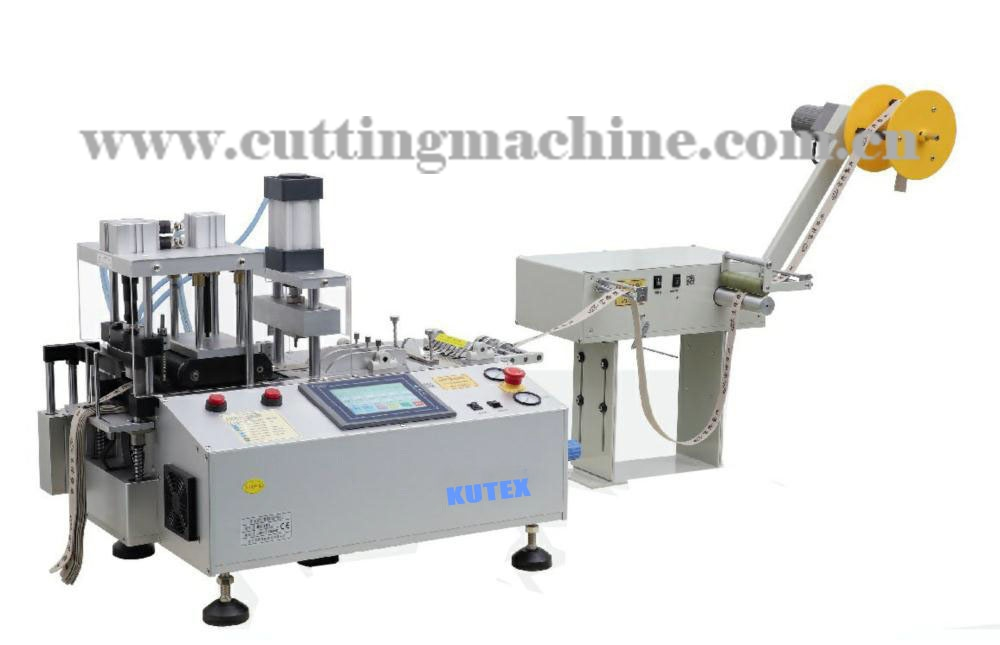 Automatic Tape Cutting Machine with Hole Punching