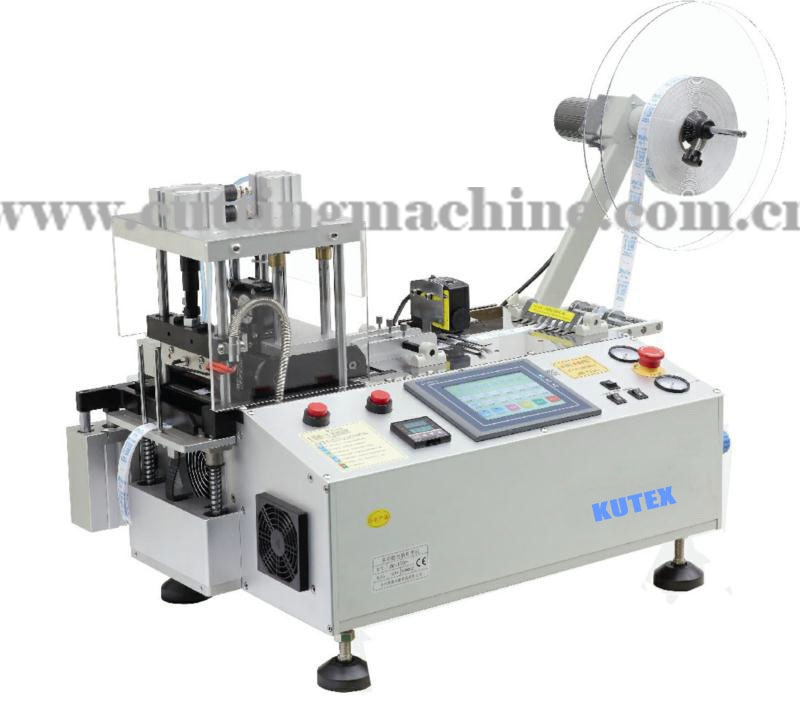 Automatic Label Cutting Machine with Collecting Device