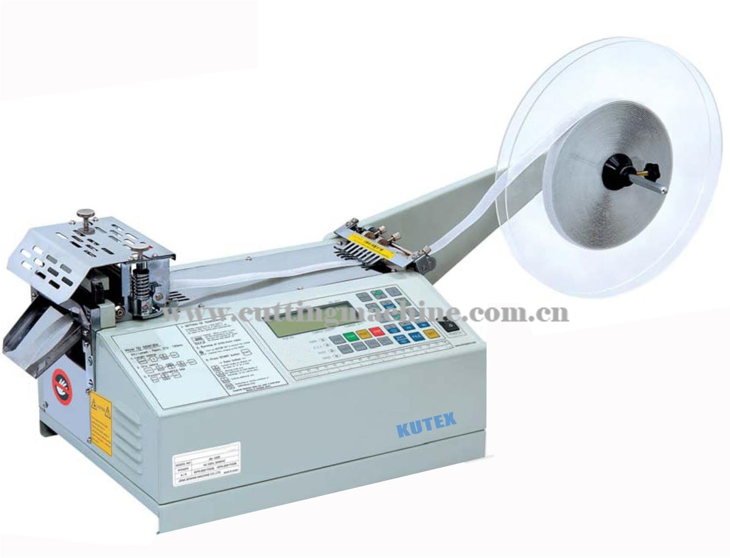 Automatic Round Velcro Cutting Machine