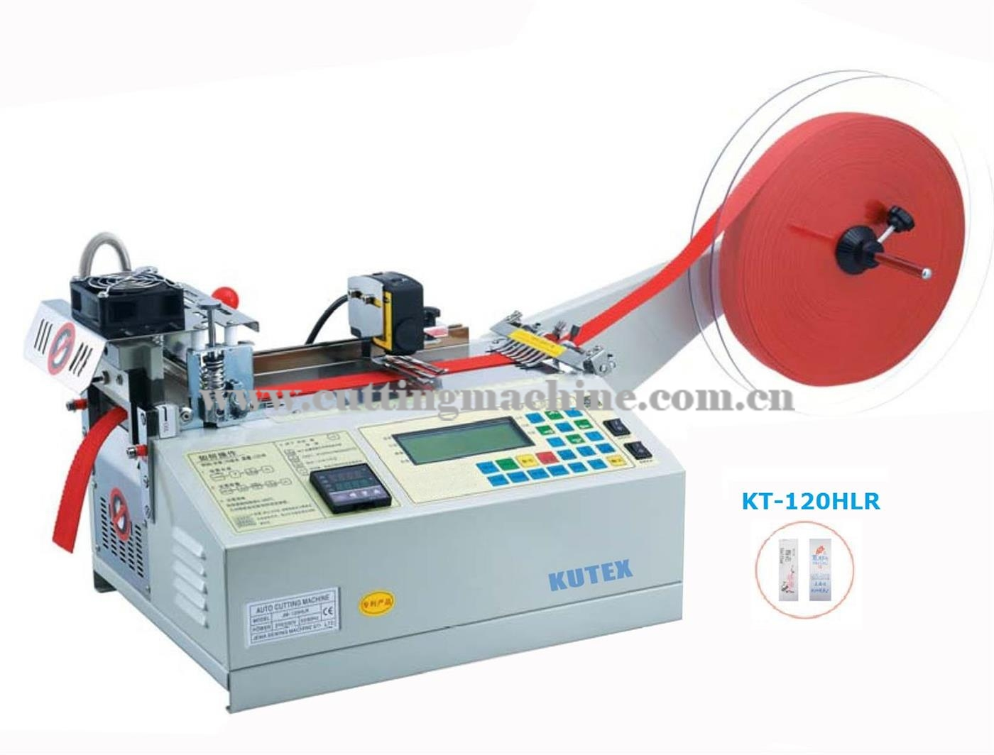 Automatic Label Cutting Machine (Hot and Cold Knife)