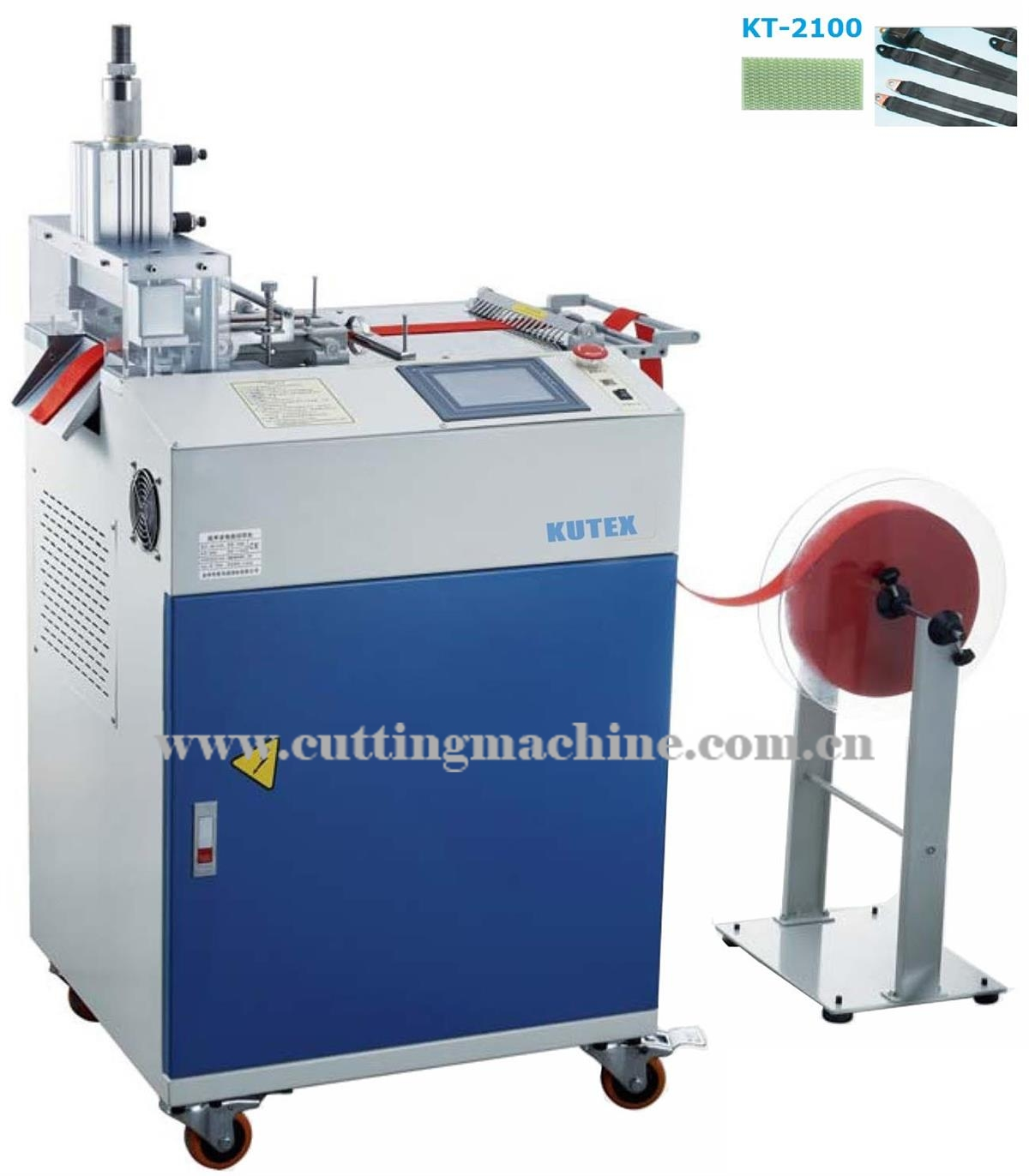 Heavy Duty Ultrasonic Tape Cutting Machine